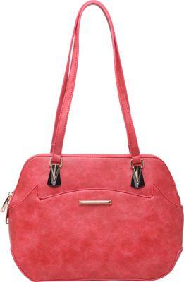 SW Global Ansel Shoulder Bag Red - SW Global Manmade Handbags