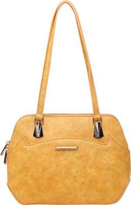 SW Global Ansel Shoulder Bag Yellow - SW Global Manmade Handbags