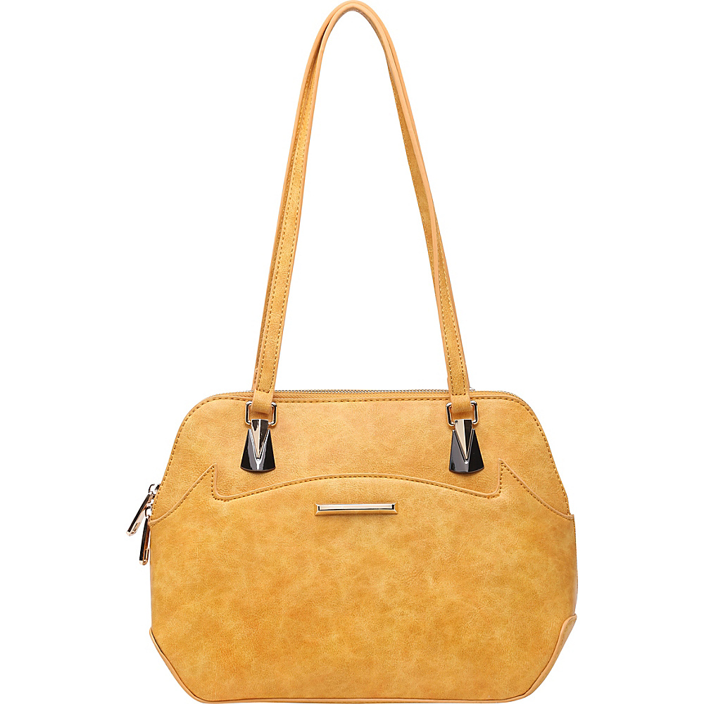 SW Global Ansel Shoulder Bag Yellow - SW Global Manmade Handbags - Handbags, Manmade Handbags