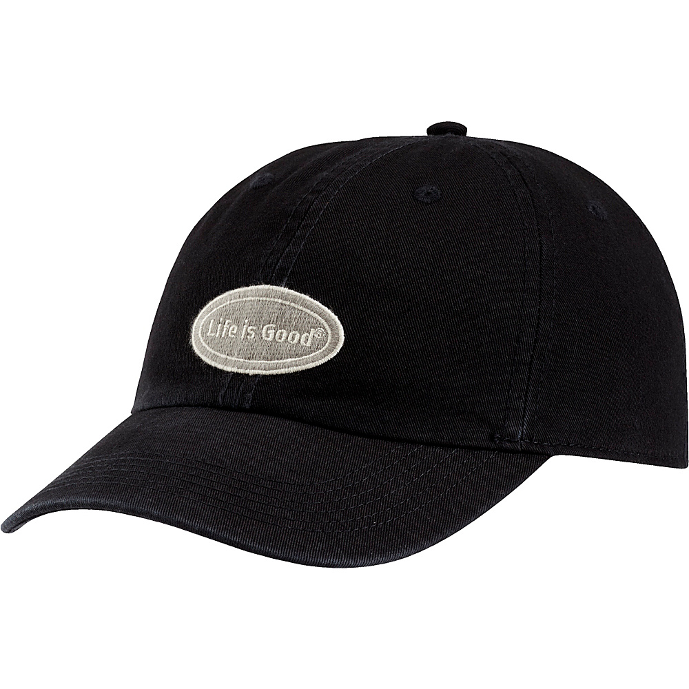 Life is good Chill Cap LIG Oval One Size - Night Black - Life is good Hats - Fashion Accessories, Hats