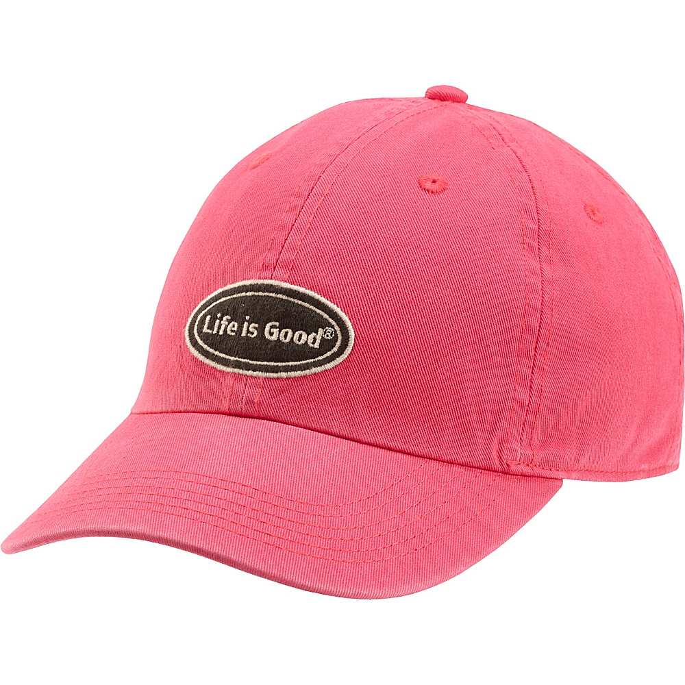 Life is good Chill Cap LIG Oval One Size - Pop Pink - Life is good Hats - Fashion Accessories, Hats