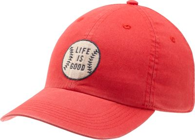Life is good Kids Chill Cap LIG Baseball S - Americana Red - Life is good Hats 10552490