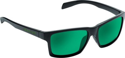 Native Eyewear Flatirons Sunglasses Matte Black with Polarized Green Reflex - Native Eyewear Eyewear
