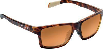 Native Eyewear Flatirons Sunglasses Desert Tort with Polarized Bronze Reflex - Native Eyewear Eyewear 10552827