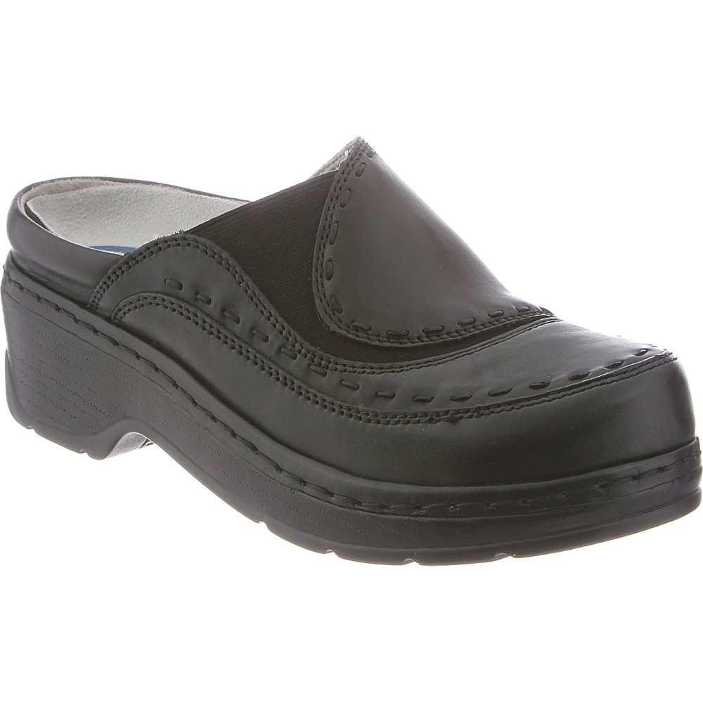 KLOGS Footwear Womens Melbourne 6 - M (Regular/Medium) - Black Smooth - KLOGS Footwear Womens Footwear - Apparel & Footwear, Women's Footwear