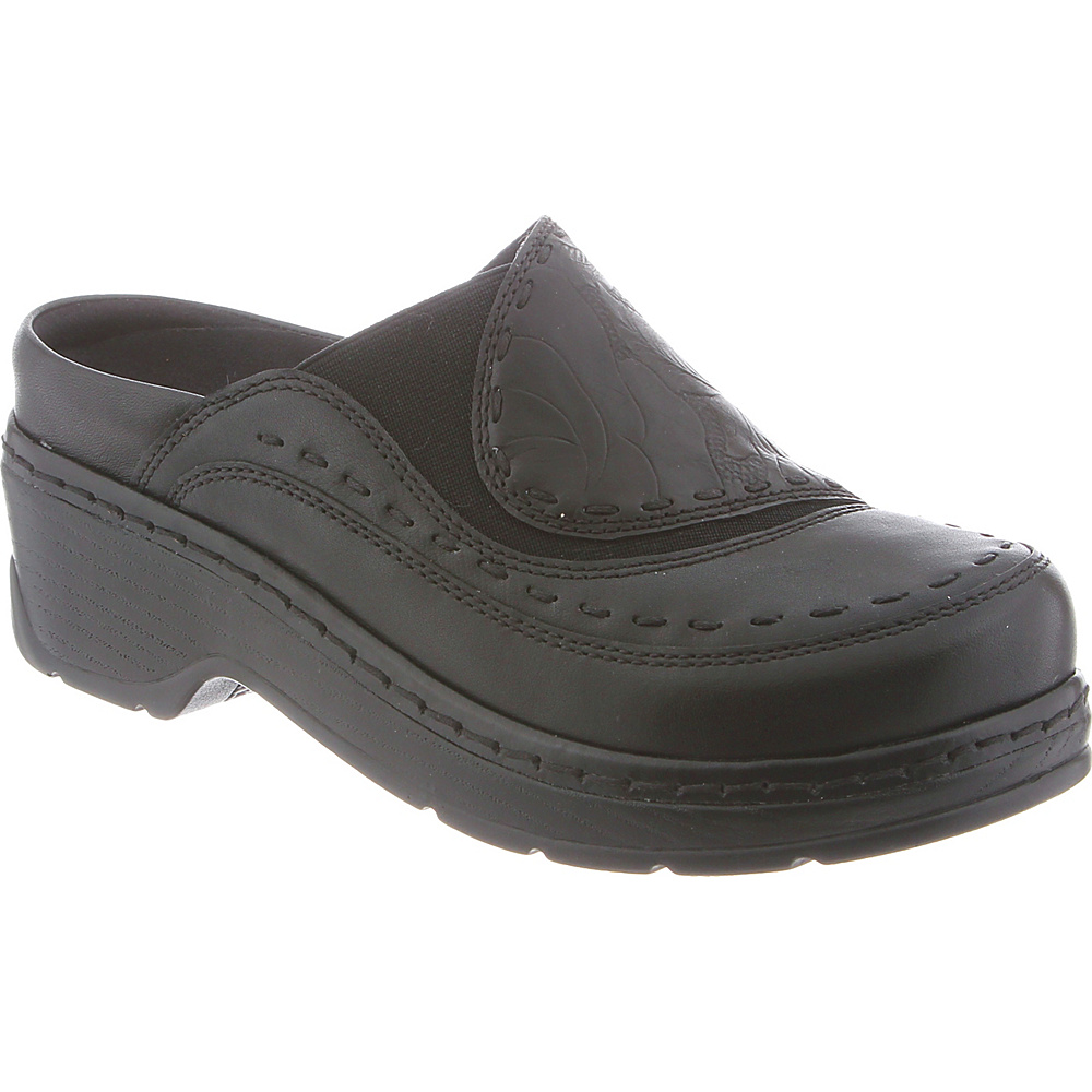 KLOGS Footwear Womens Melbourne 9.5 - W (Wide) - Black Eagle - KLOGS Footwear Womens Footwear - Apparel & Footwear, Women's Footwear