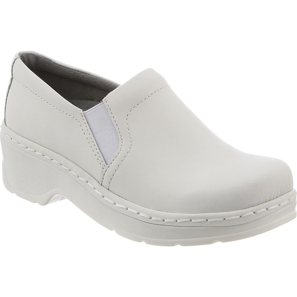 KLOGS Footwear Womens Naples 13 - W (Wide) - White Smooth - KLOGS Footwear Womens Footwear - Apparel & Footwear, Women's Footwear