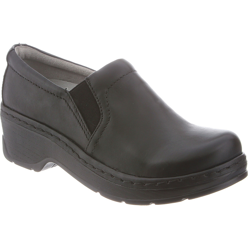 KLOGS Footwear Womens Naples 13 - W (Wide) - Black Smooth - KLOGS Footwear Womens Footwear - Apparel & Footwear, Women's Footwear