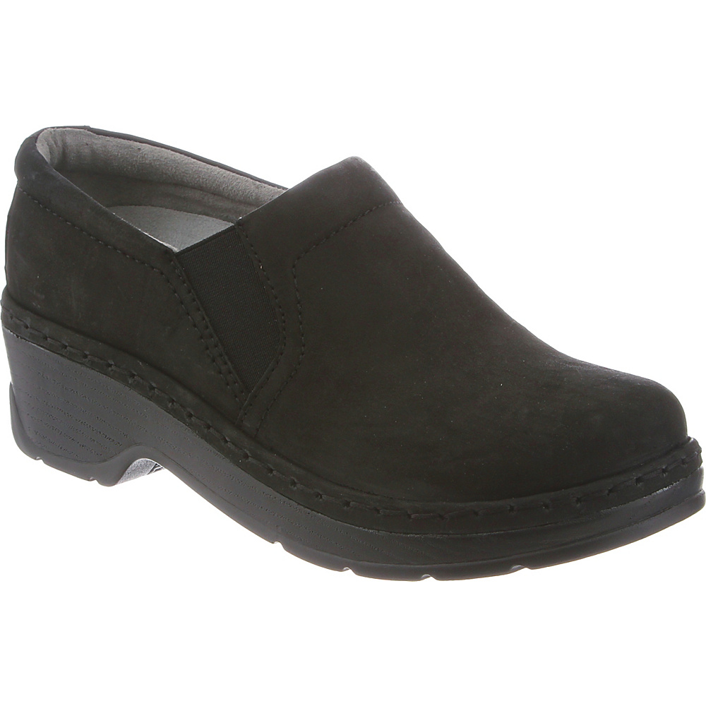 KLOGS Footwear Womens Naples 14 - W (Wide) - Black Oiled - KLOGS Footwear Womens Footwear - Apparel & Footwear, Women's Footwear