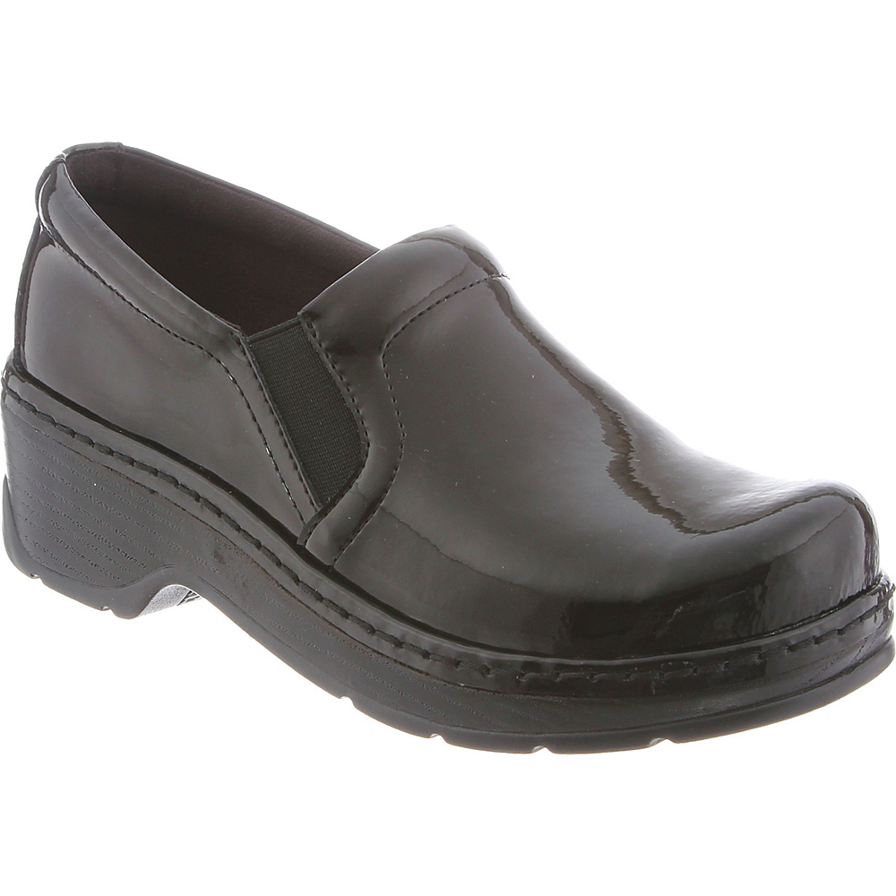 KLOGS Footwear Womens Naples 6 - M (Regular/Medium) - Black Patent - KLOGS Footwear Womens Footwear - Apparel & Footwear, Women's Footwear