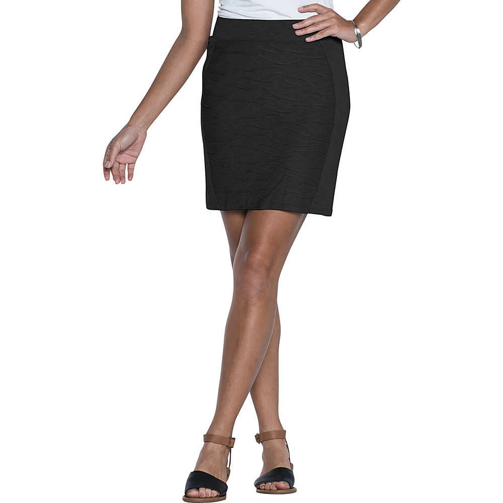Toad & Co Sama Sama Skirt XL - Black - Toad & Co Womens Apparel - Apparel & Footwear, Women's Apparel