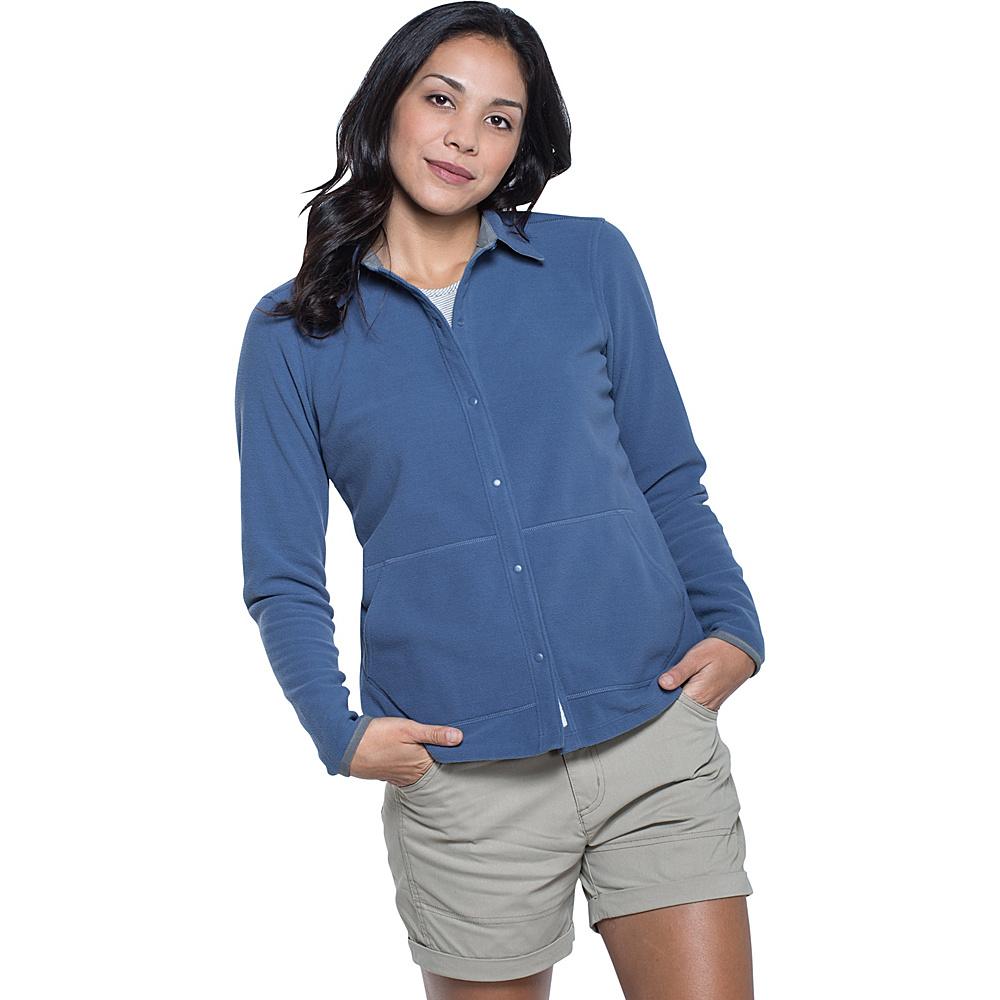 Toad & Co Sundowner Fleece Shirt XS - Indigo - Toad & Co Womens Apparel - Apparel & Footwear, Women's Apparel