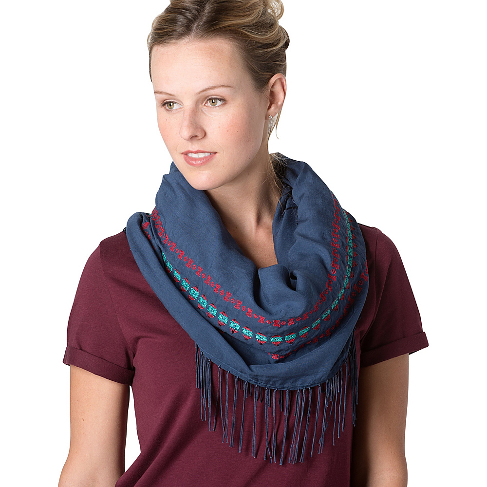 Toad & Co Quito Infinity Scarf Indigo - Toad & Co Scarves - Fashion Accessories, Scarves