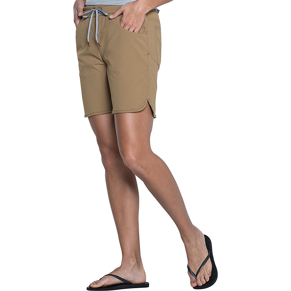 Toad & Co Lightrange Short S - 7in - Honey Brown - Toad & Co Womens Apparel - Apparel & Footwear, Women's Apparel
