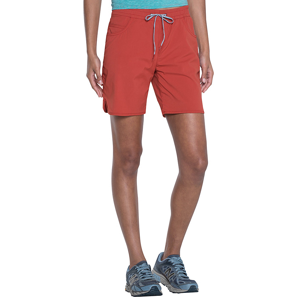 Toad & Co Lightrange Short XL - 7in - Red Clay - Toad & Co Womens Apparel - Apparel & Footwear, Women's Apparel