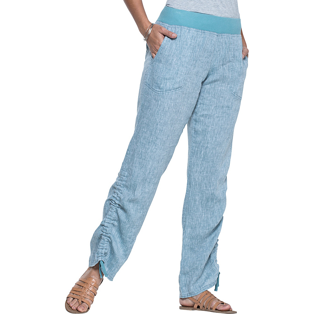 Toad & Co Lina Pant S - 32in - Hydro - Toad & Co Womens Apparel - Apparel & Footwear, Women's Apparel