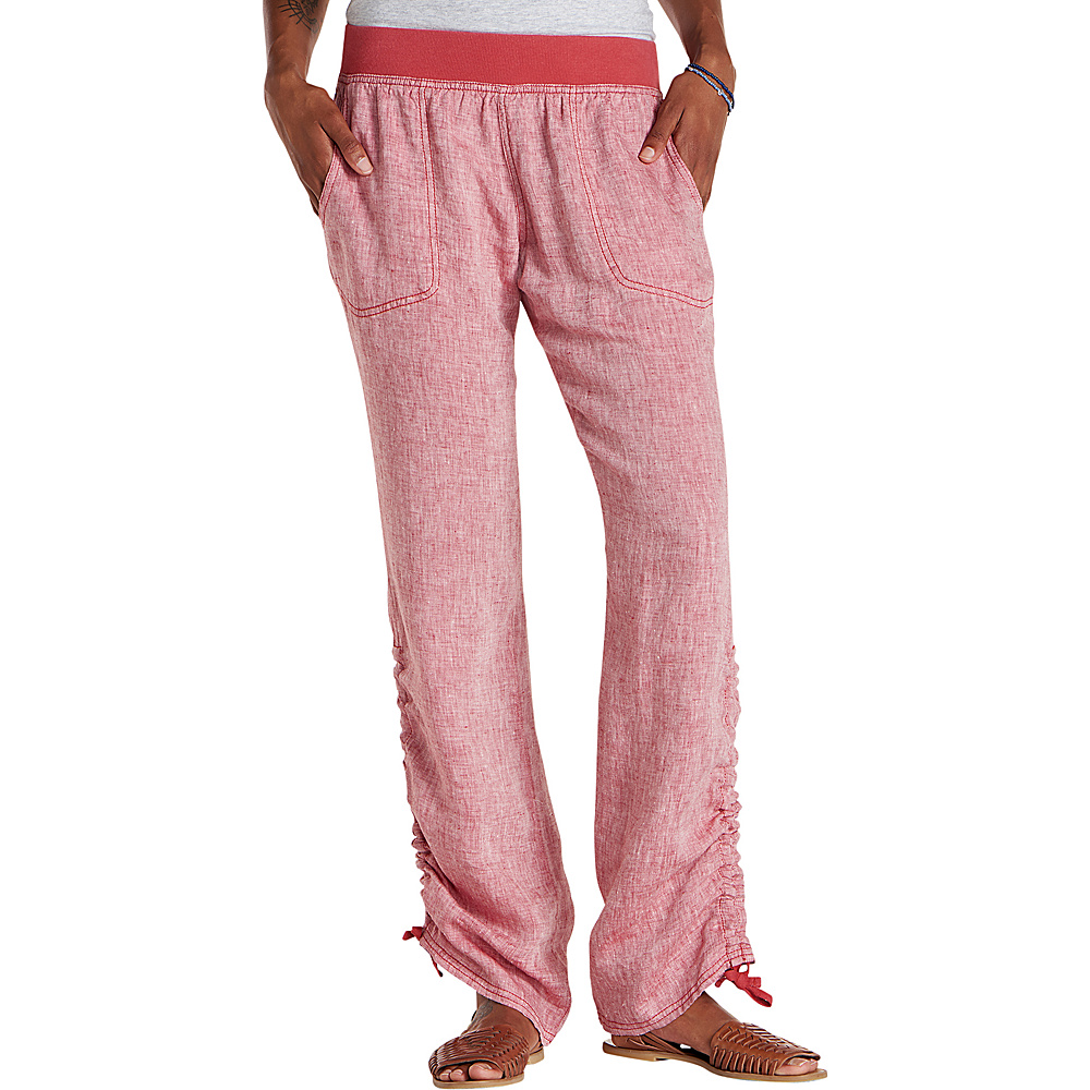 Toad & Co Lina Pant S - Rhubarb - Toad & Co Womens Apparel - Apparel & Footwear, Women's Apparel
