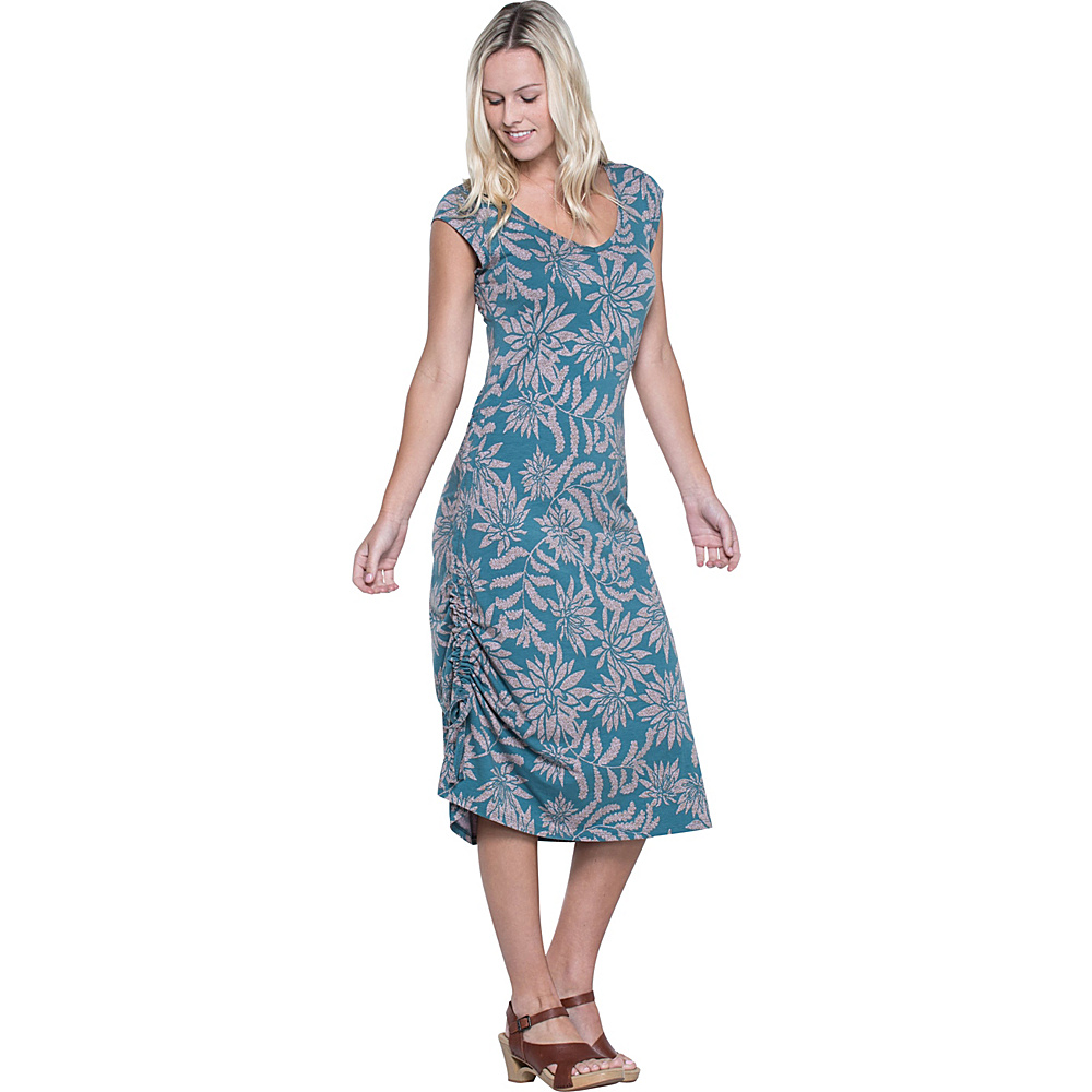 Toad & Co Muse Dress XS - Hydro Succulent Print - Toad & Co Womens Apparel - Apparel & Footwear, Women's Apparel