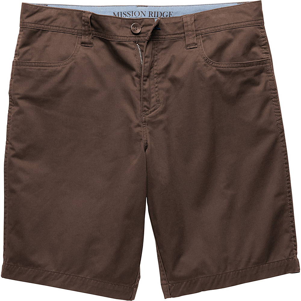 Toad & Co Mission Ridge Short 10.5 Inch 30 - Buffalo - Toad & Co Mens Apparel - Apparel & Footwear, Men's Apparel