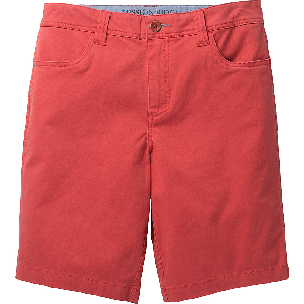 Toad & Co Mission Ridge Short 10.5 Inch 38 - Red Clay - Toad & Co Mens Apparel - Apparel & Footwear, Men's Apparel