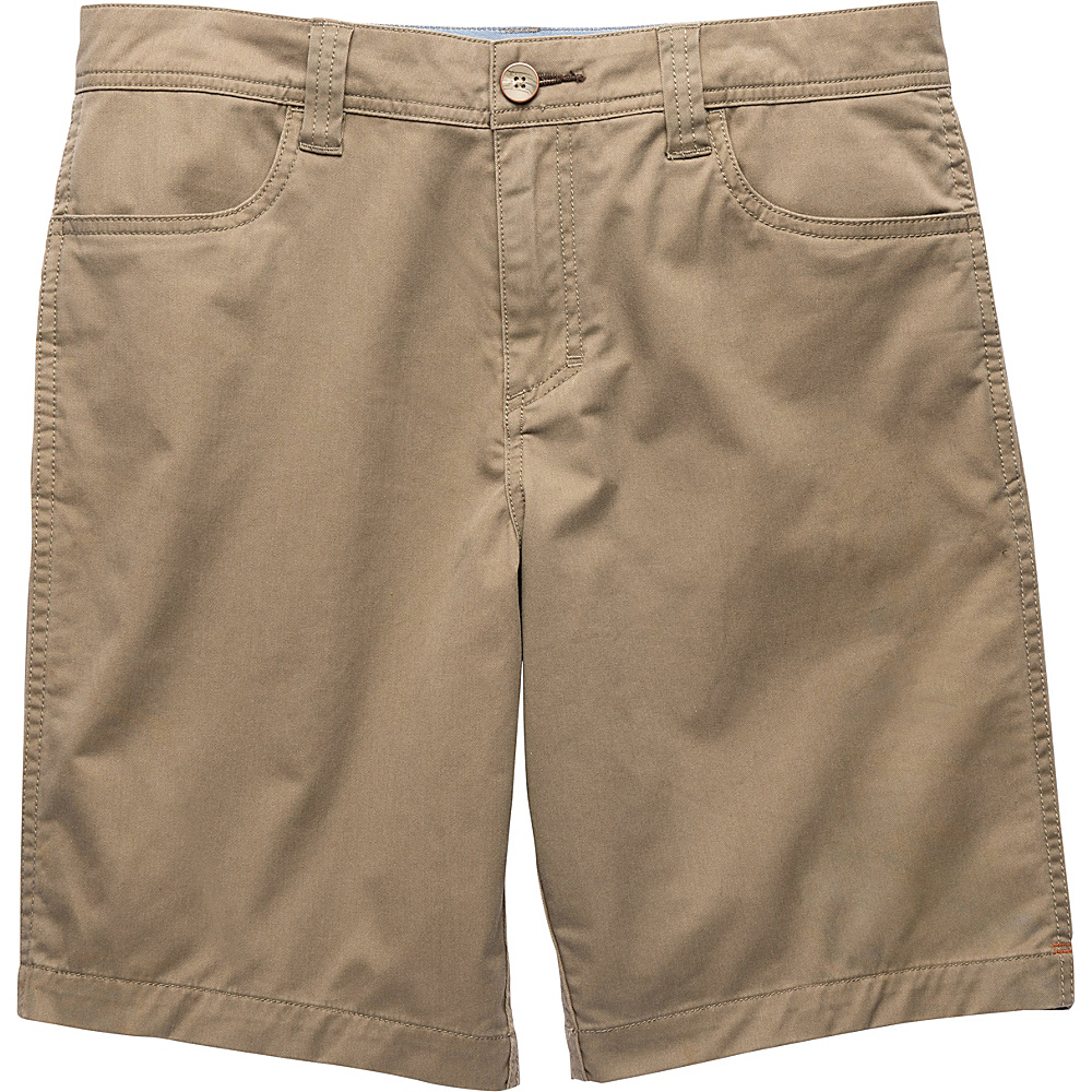 Toad & Co Mission Ridge Short 10.5 Inch 31 - Dark Chino - Toad & Co Mens Apparel - Apparel & Footwear, Men's Apparel