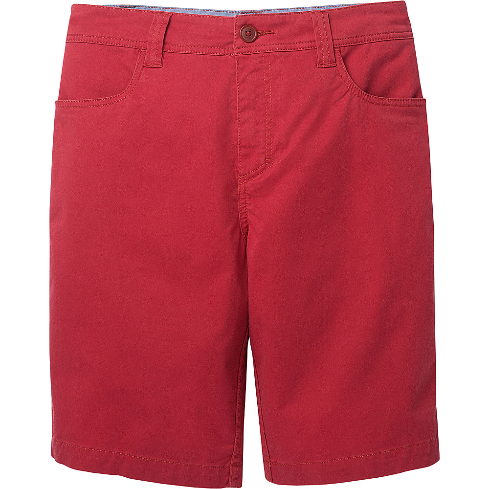 Toad & Co Mission Ridge Short 10.5 Inch 33 - Brick Red - Toad & Co Mens Apparel - Apparel & Footwear, Men's Apparel