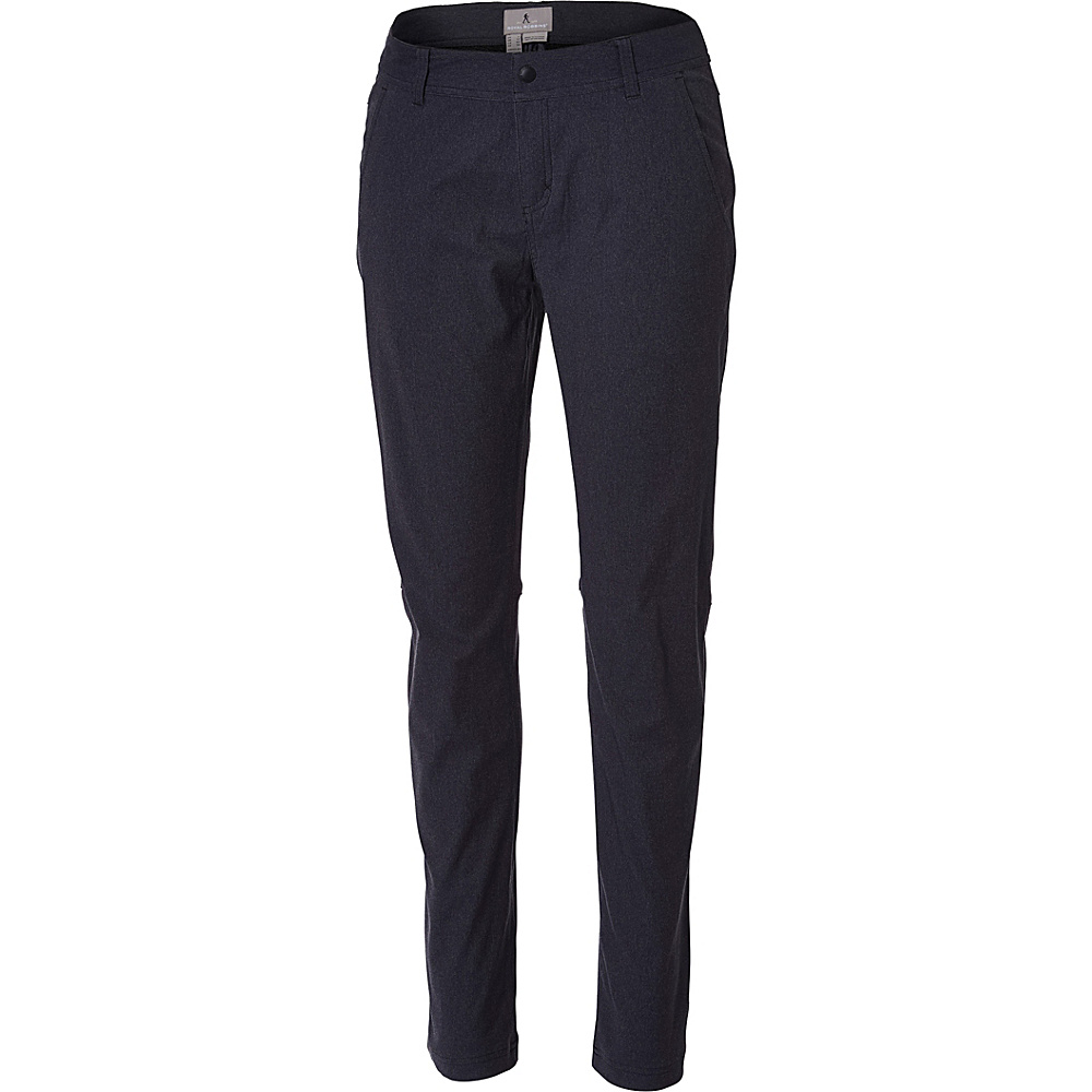 Royal Robbins Womens Alpine Road Pant 2 - 34in - Charcoal - Royal Robbins Womens Apparel - Apparel & Footwear, Women's Apparel