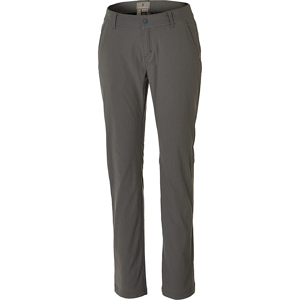 Royal Robbins Womens Alpine Road Pant 4 - 29in - Pewter - Royal Robbins Womens Apparel - Apparel & Footwear, Women's Apparel