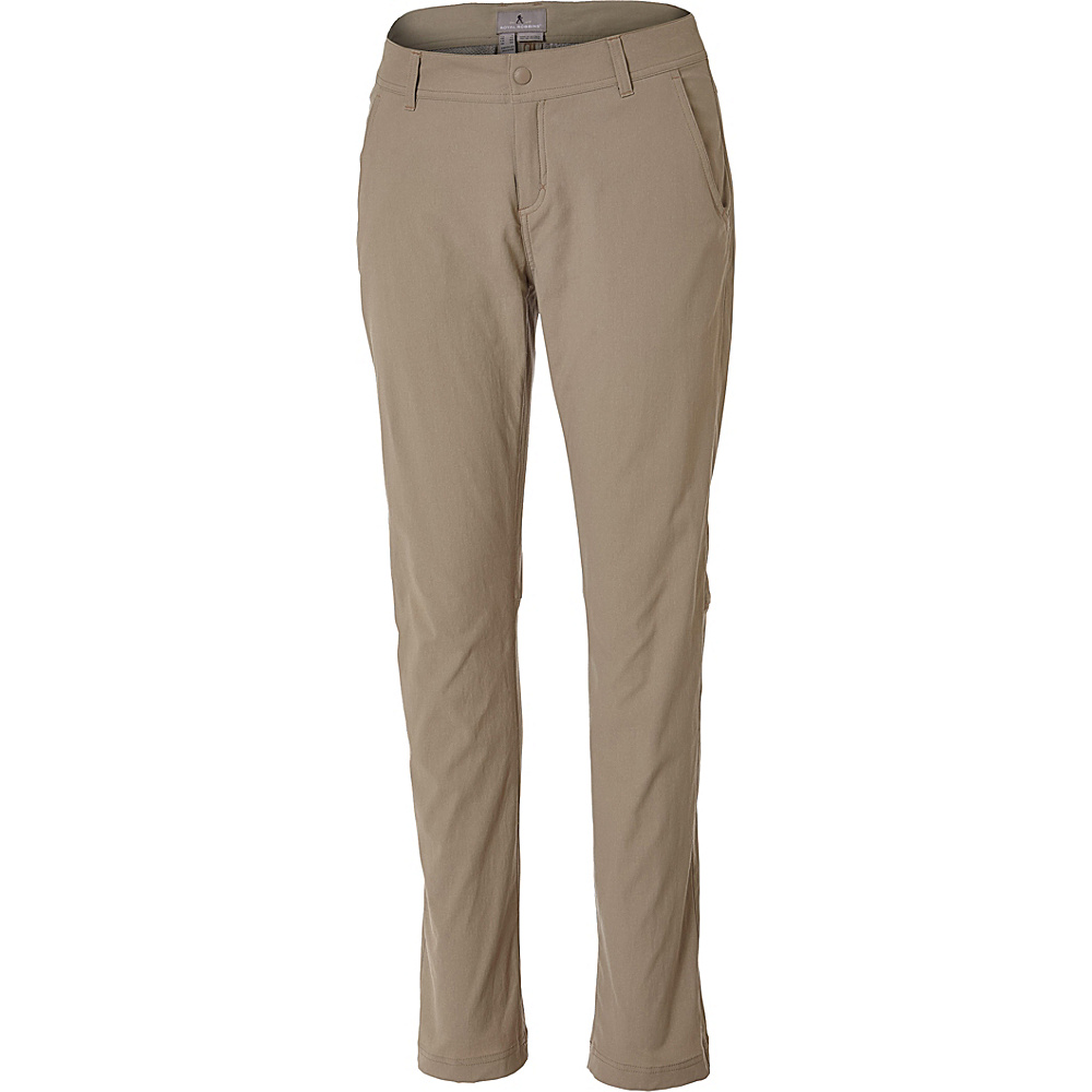 Royal Robbins Womens Alpine Road Pant 12 - Petite - Khaki - Royal Robbins Womens Apparel - Apparel & Footwear, Women's Apparel