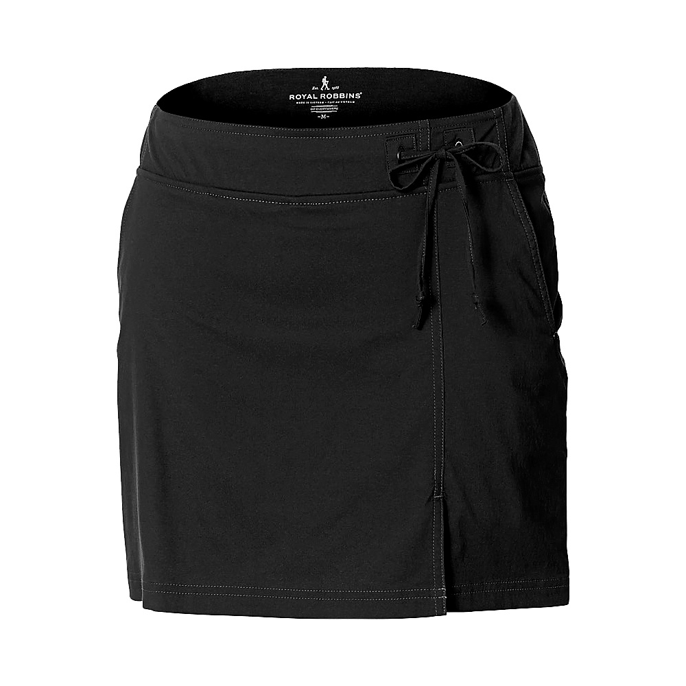 Royal Robbins Womens Jammer Skort XL - Jet Black - Royal Robbins Womens Apparel - Apparel & Footwear, Women's Apparel