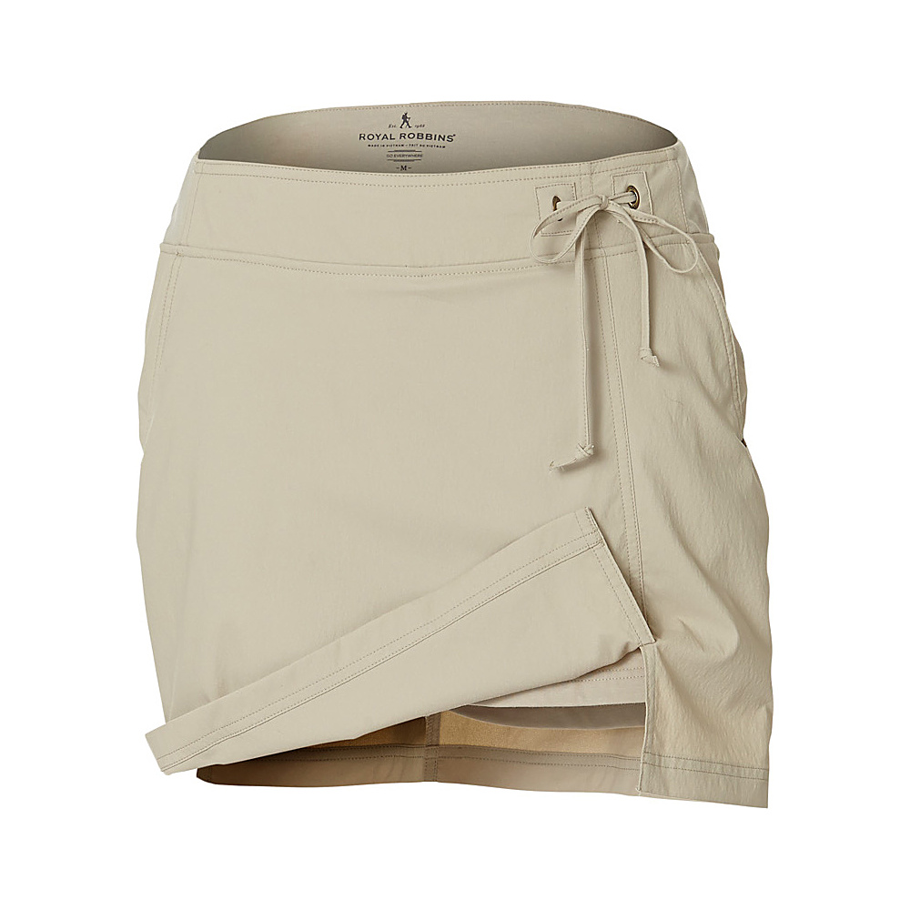 Royal Robbins Womens Jammer Skort L - Light Khaki - Royal Robbins Womens Apparel - Apparel & Footwear, Women's Apparel