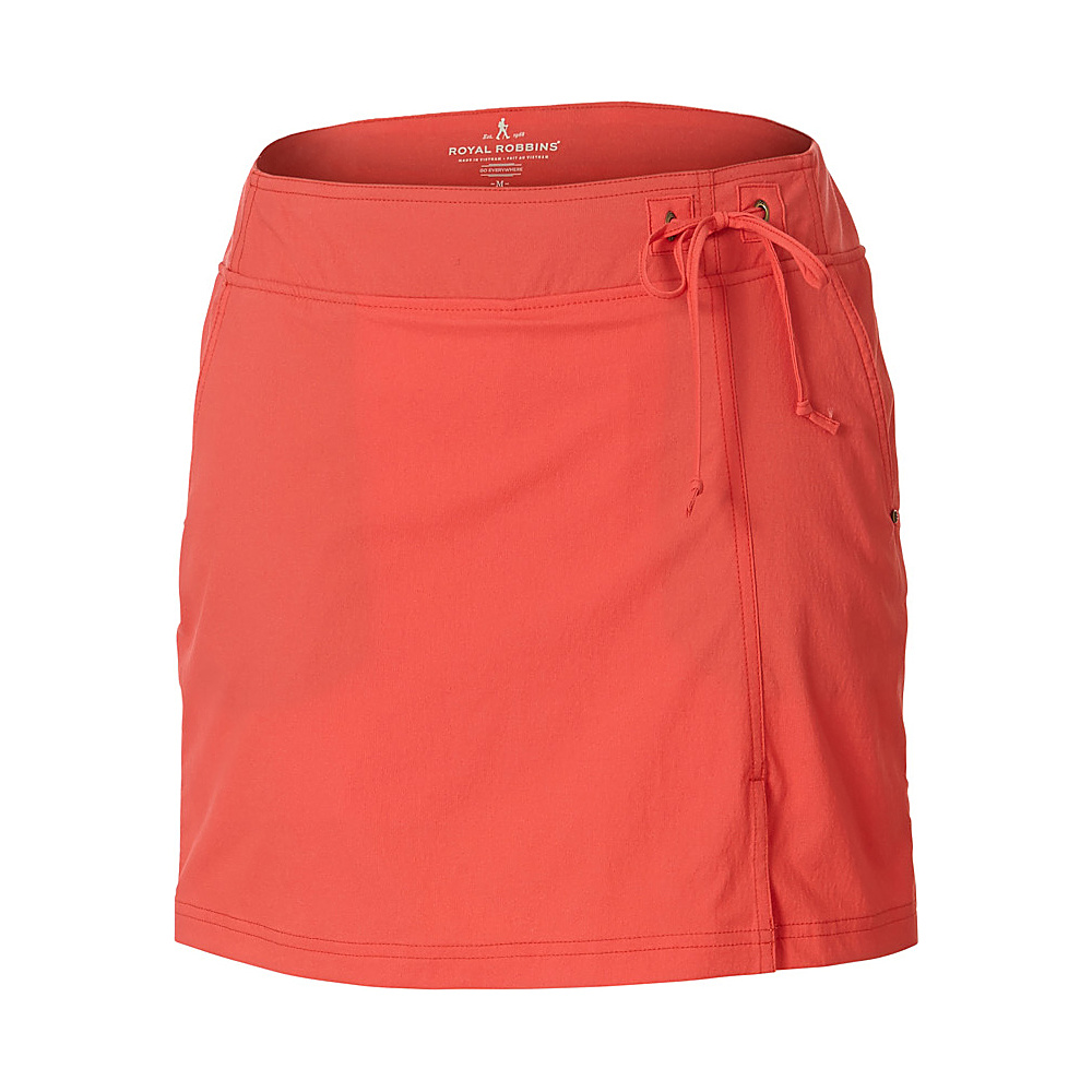 Royal Robbins Womens Jammer Skort XL - Dark Coral - Royal Robbins Womens Apparel - Apparel & Footwear, Women's Apparel
