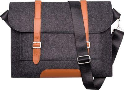 Something Strong Slim Messenger Dark Grey - Something Strong Messenger Bags