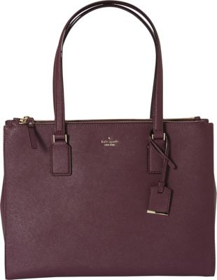 kate spade new york Cameron Street Jensen Shoulder Bag Deep Plum - kate spade new york Designer Handbags