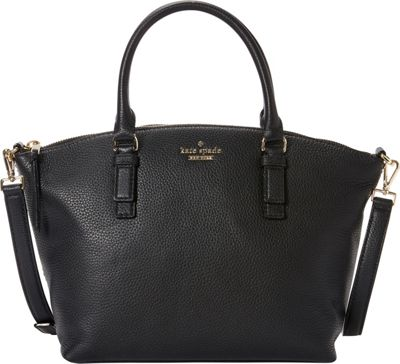 kate spade new york Jackson Street Small Dixon Satchel Black - kate spade new york Designer Handbags