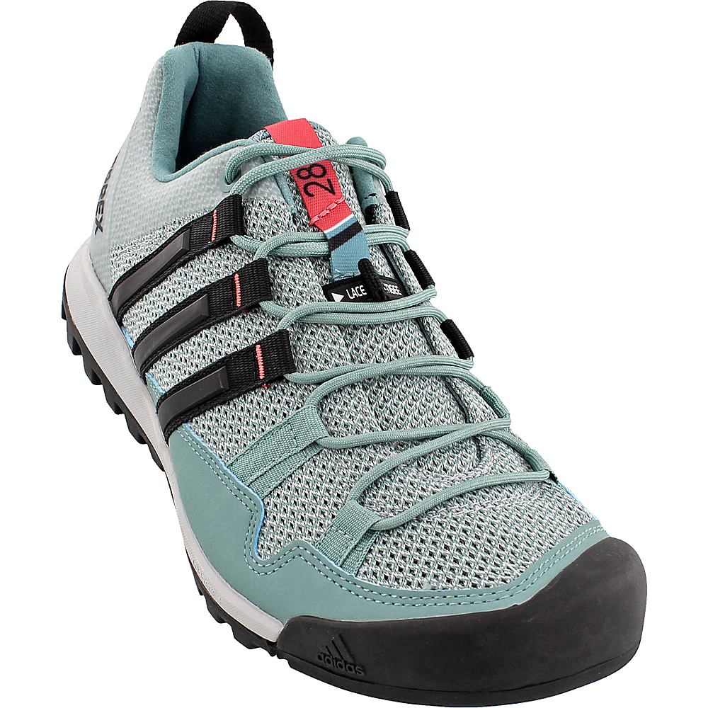 adidas outdoor Womens Terrex Solo Shoe 9.5 - Vapour Steel/Black/Tactile Pink - adidas outdoor Mens Footwear - Apparel & Footwear, Men's Footwear