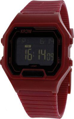 Kr3w Active Men's Terminal Watch Burgundy - Kr3w Active Watches