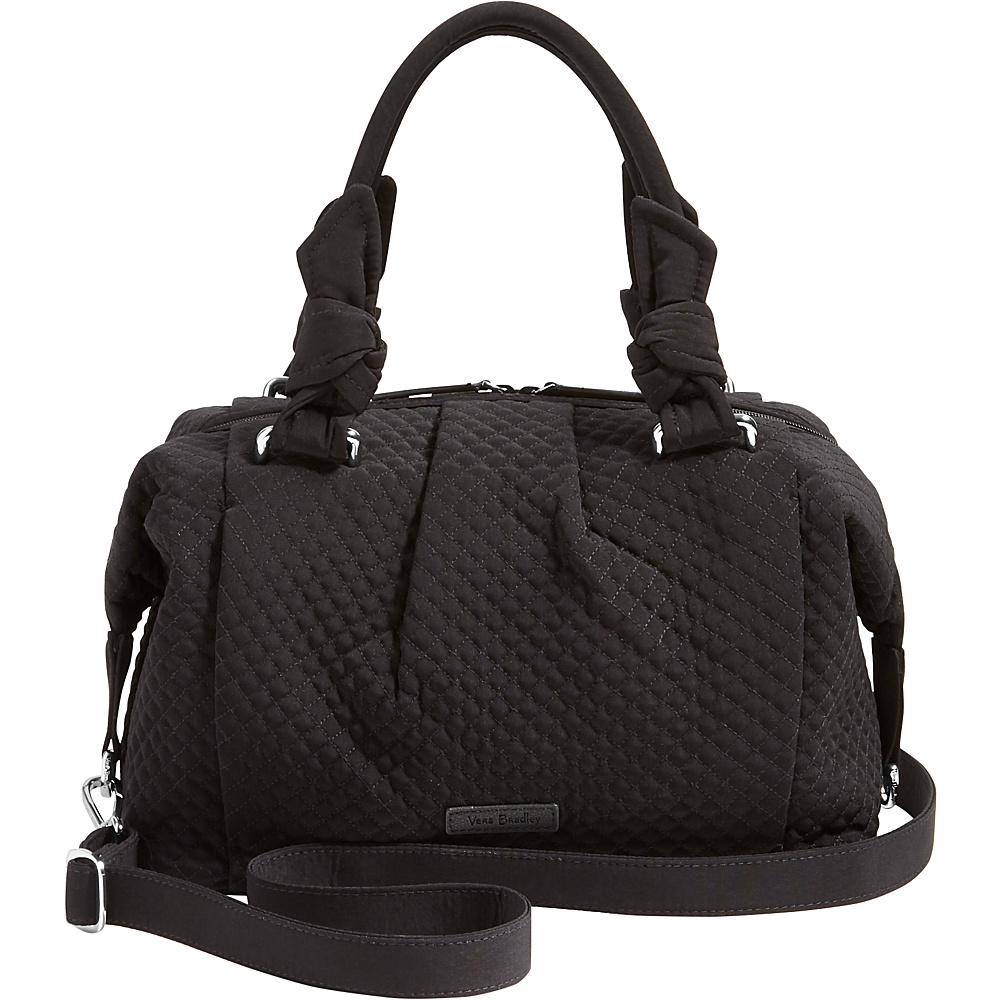 Vera Bradley Hadley Satchel - Solids Classic Black - Vera Bradley Fabric Handbags - Handbags, Fabric Handbags