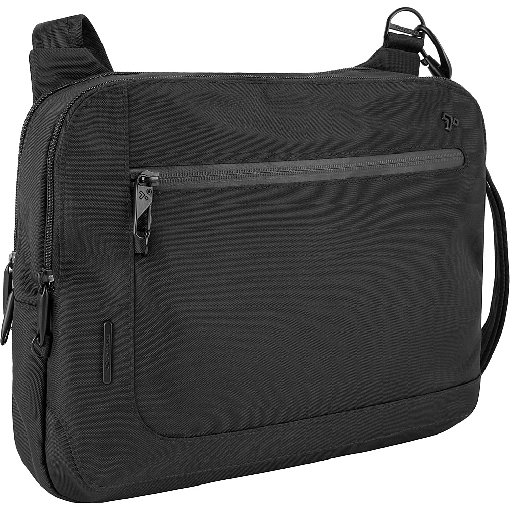 Travelon Anti-Theft Urban E/W Tablet Messenger Black - Travelon Messenger Bags - Work Bags & Briefcases, Messenger Bags