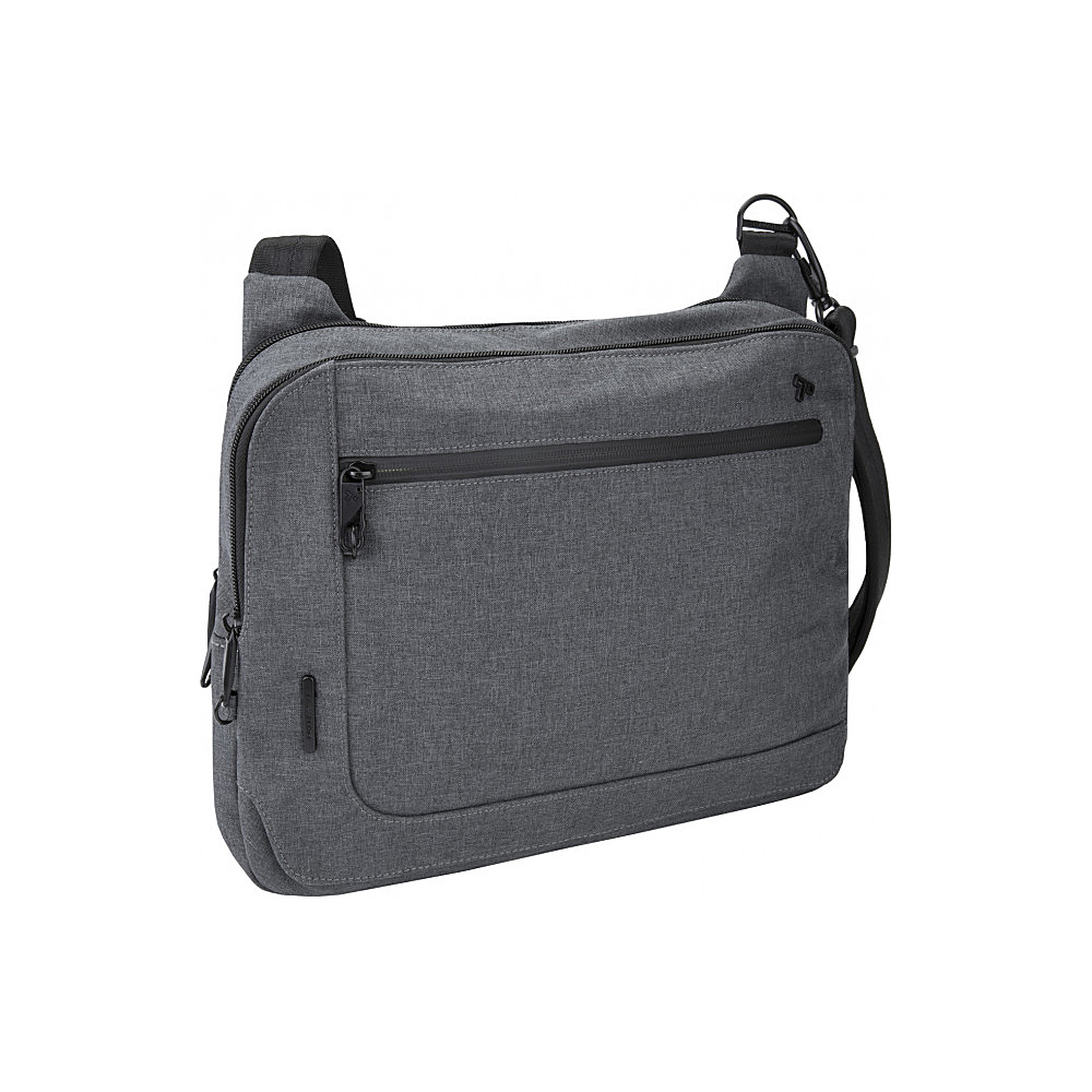 Travelon Anti-Theft Urban E/W Tablet Messenger Slate - Travelon Messenger Bags - Work Bags & Briefcases, Messenger Bags