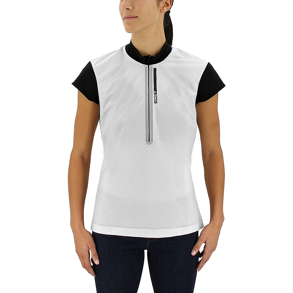 adidas outdoor Womens Agravic Wind Shirt XS - Ice Purple - adidas outdoor Womens Apparel - Apparel & Footwear, Women's Apparel