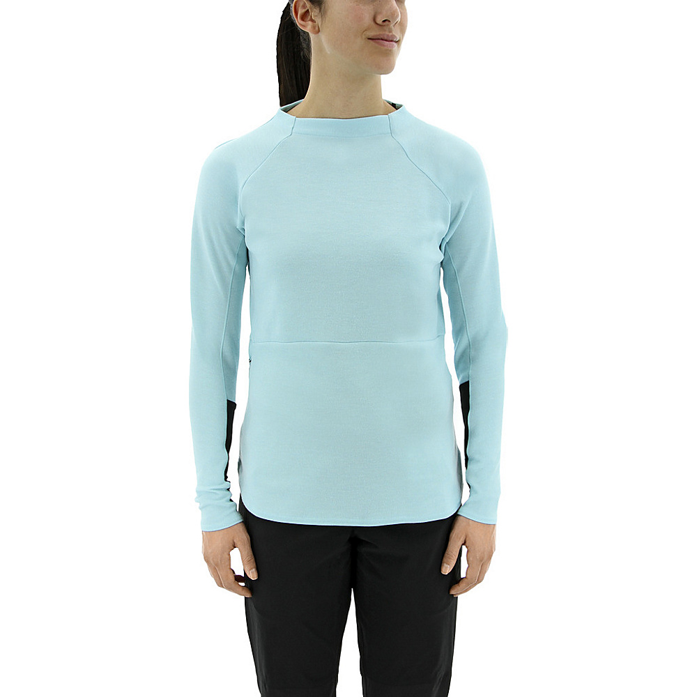adidas outdoor Womens Climb The City Wool Crew S - Clear Aqua - adidas outdoor Womens Apparel - Apparel & Footwear, Women's Apparel