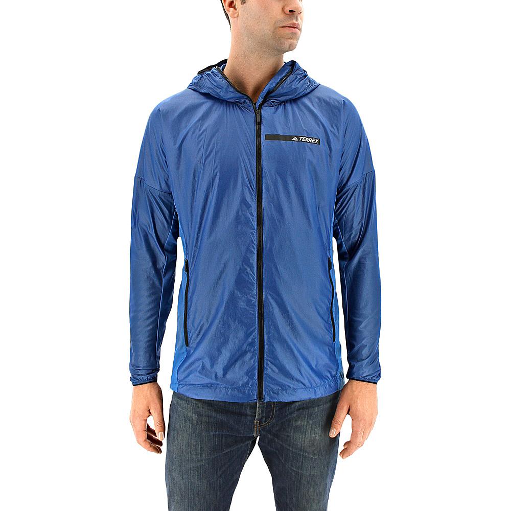 adidas outdoor Mens Agravic Alpha Shield Hoodie XL - Core Blue - adidas outdoor Mens Apparel - Apparel & Footwear, Men's Apparel
