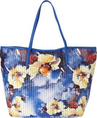 Sondra Roberts Le Jardin Navy - Sondra Roberts Manmade Handbags