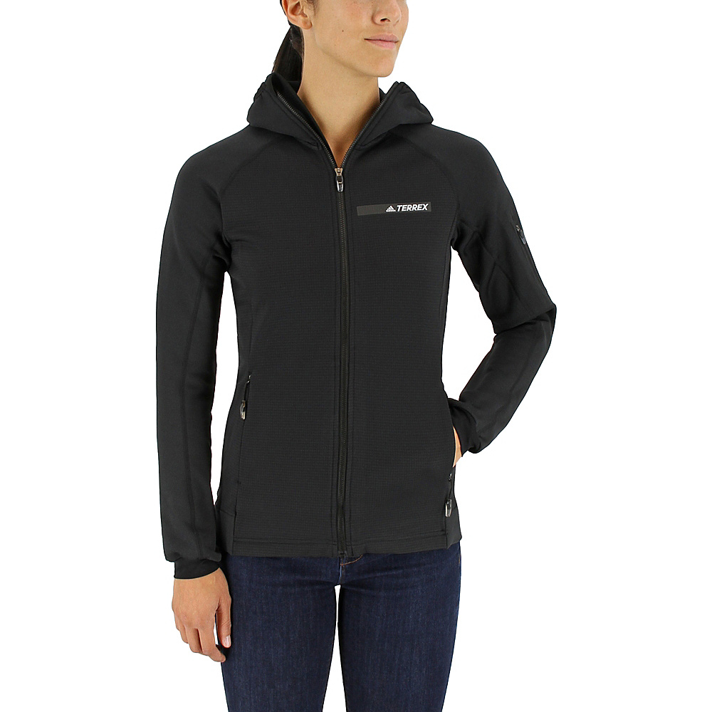 adidas outdoor Womens Terrex Stockhorn Hoodie XS - Black - adidas outdoor Womens Apparel - Apparel & Footwear, Women's Apparel