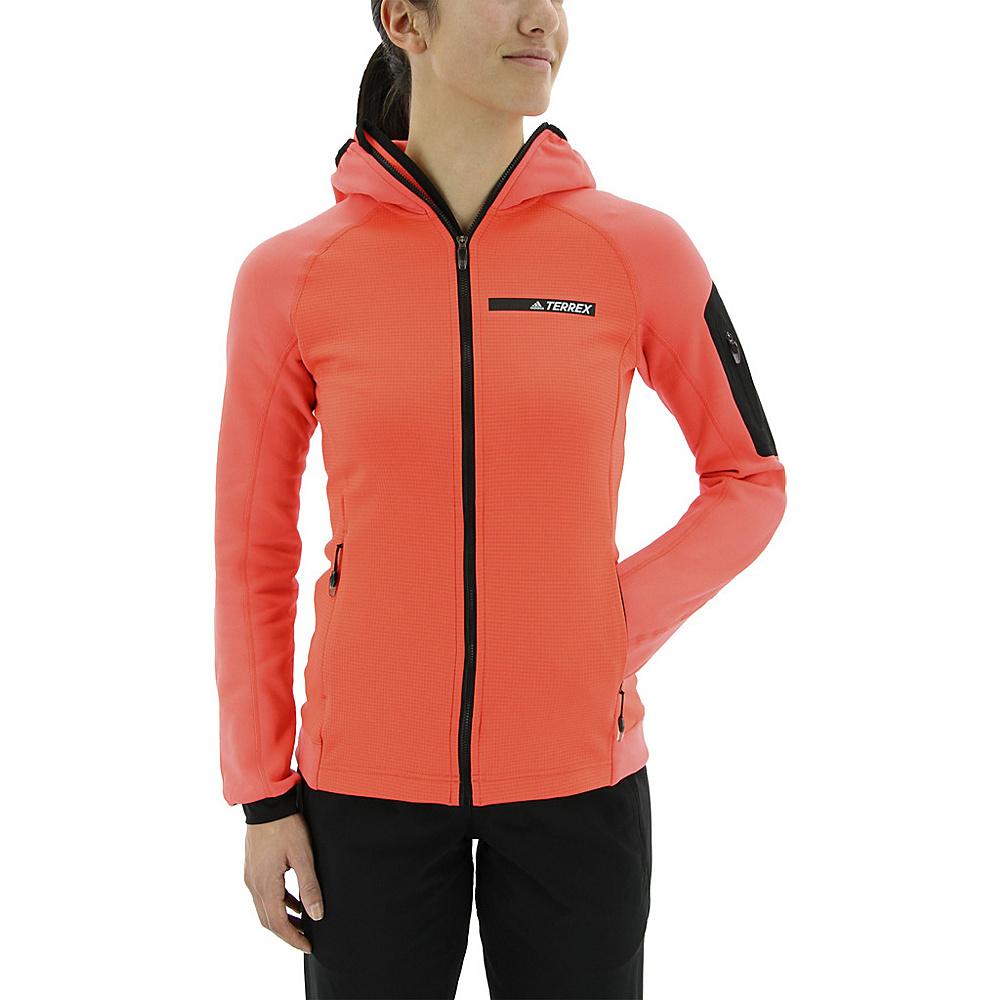 adidas outdoor Womens Terrex Stockhorn Hoodie XL - Easy Coral - adidas outdoor Womens Apparel - Apparel & Footwear, Women's Apparel