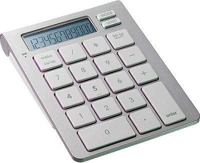SMK-Link iCalc Bluetooth Calculator Keypad Silver - SMK-Link Business Accessories