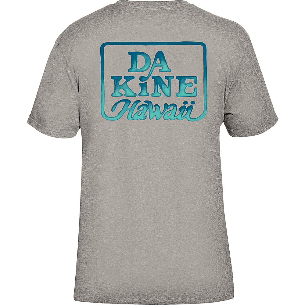 DAKINE Mens Classic Brush T-Shirt L - Heather Grey - DAKINE Mens Apparel - Apparel & Footwear, Men's Apparel