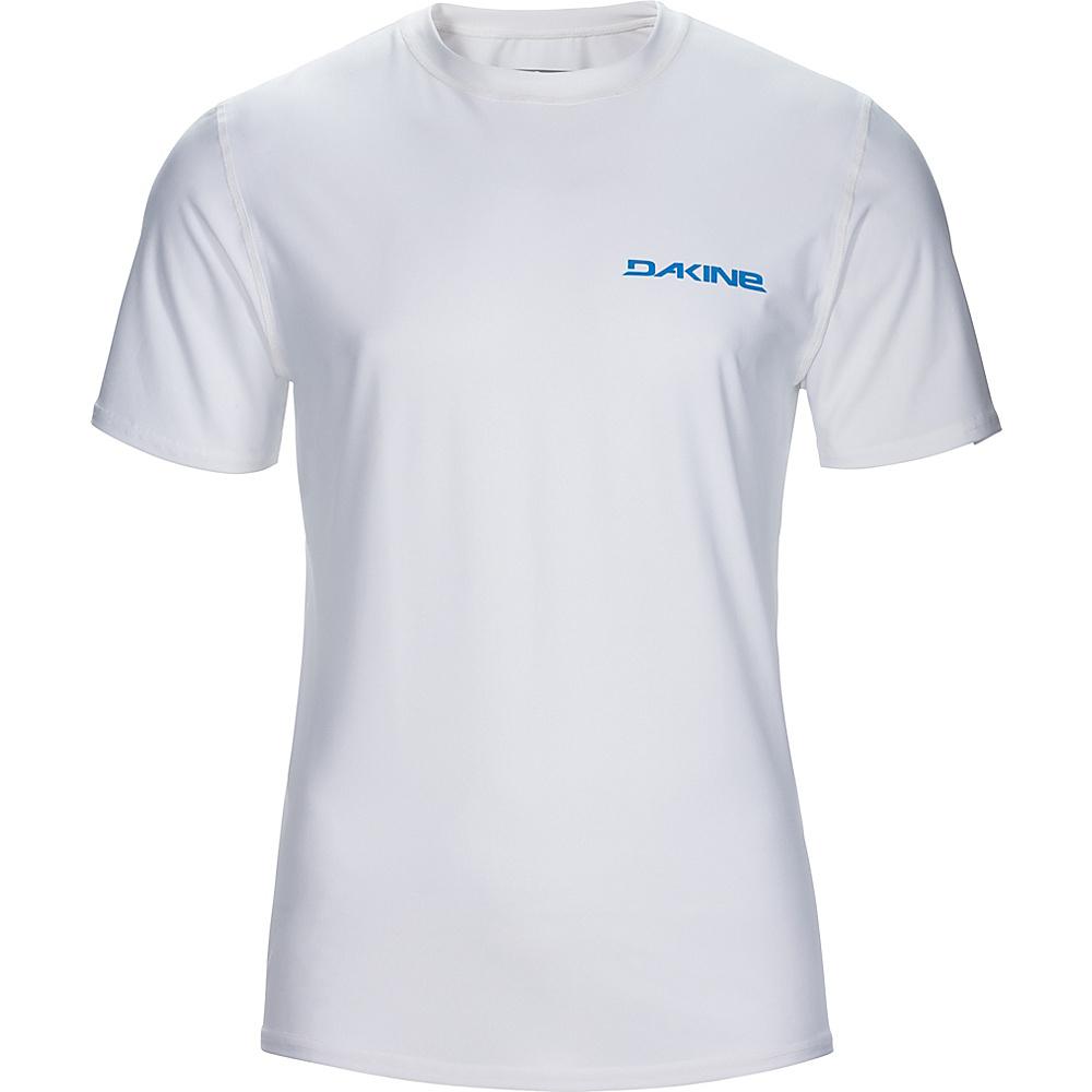 DAKINE Mens Heavy Duty Loose Fit Short Sleeve L - White - DAKINE Mens Apparel - Apparel & Footwear, Men's Apparel