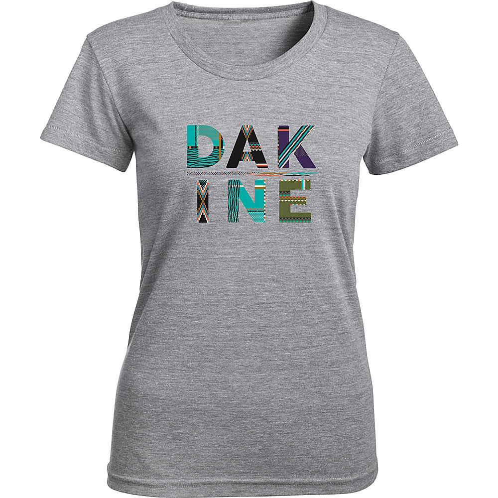 DAKINE Womens Craft Short Sleeve Tech T XL - Heather Graphite - DAKINE Womens Apparel - Apparel & Footwear, Women's Apparel